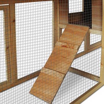 Deuba Hasenstall mit 2 Etagen variabel aufstellbar - Kaninchenstall Kleintierstall Hasenkäfig - 6