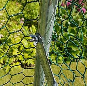 FeelGoodUK 2m x 3m Walk In Hundehütte Pen Run Außen Übung Cage - CAGE 04 DE - 5