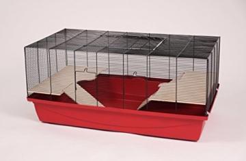 Hamsterkäfig Mäusekäfig Kleintierkäfig Nagerkäfig Ricardo Super R 105x52,5x46 cm - 1