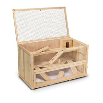 Kleintierstall Meerschweinchenstall CHINO aus Holz, 100x55x55 cm, Hamsterkäfig, Nagerkäfig - 9