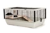 Little Friends Grosvenor Ratten- und Hamster-Käfig mit Holz-Podest und -Leiter - 1