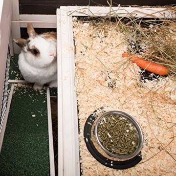 Lounge Small Pet Cage Kleintierstall, für den Innenbereich, aus Fichtenholz, 2 Ebenen - 7