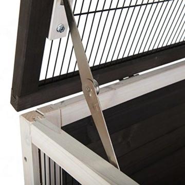 Lounge Small Pet Cage Kleintierstall, für den Innenbereich, aus Fichtenholz, 2 Ebenen - 8