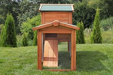 Miweba Hasenstall My Animal MH-03 Doppelstockhaus mit Garten Hasenvilla Kaninchenkäfig Hasenkäfig Kaninchenstall 2 Ebenen - 9