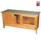 Vollständig montierter Käfig für Kaninchen, Meerschweinchen und Chinchillas - 1