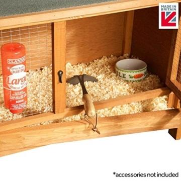Vollständig montierter Käfig für Kaninchen, Meerschweinchen und Chinchillas - 2